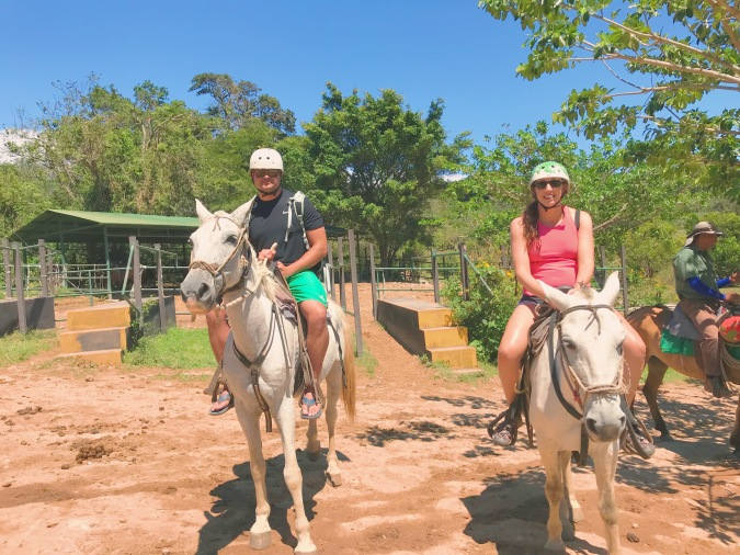 horseback riding on the Buena vista tour