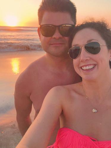 beach sunset at the JW Marriott Guanacaste
