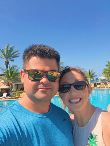 hanging out by the pool at JW Marriott Guanacaste