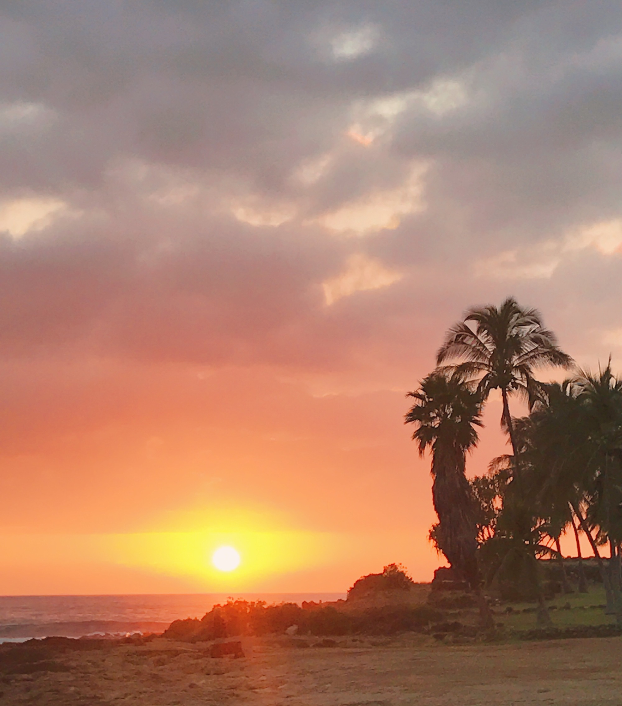 hawaiian sunsets