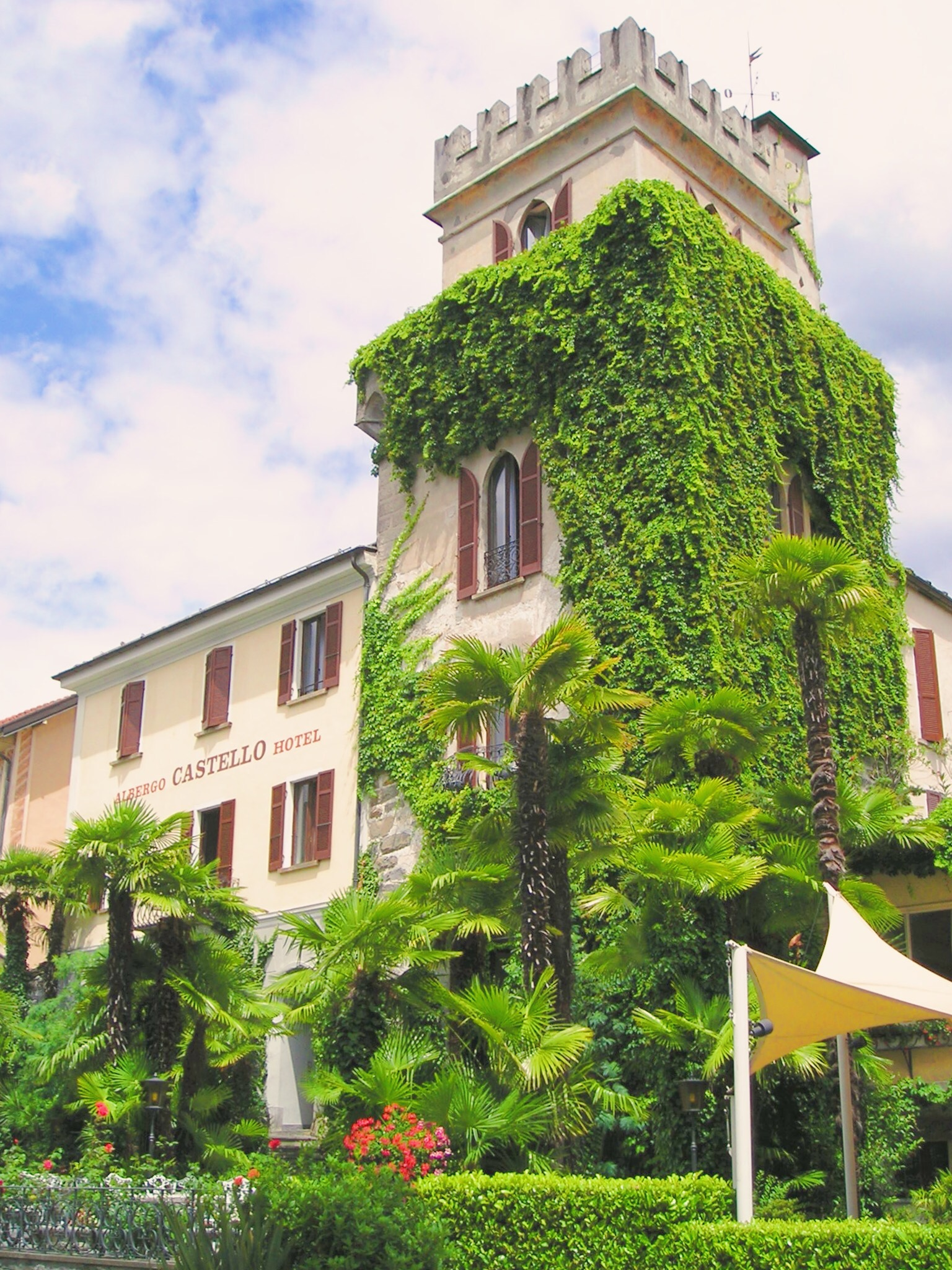Romantik hotel castello Ascona switzerland
