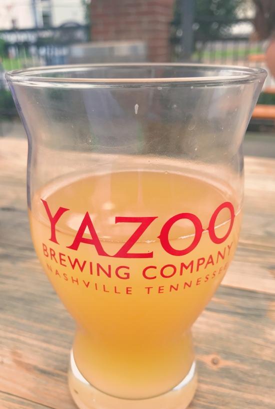 Yazoo brewing Nashville