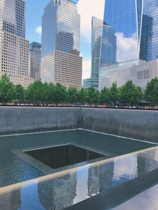 freedom tower reflection pool