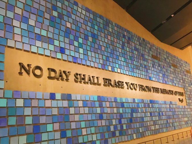 No day shall erase you from the memory of time -Virgil