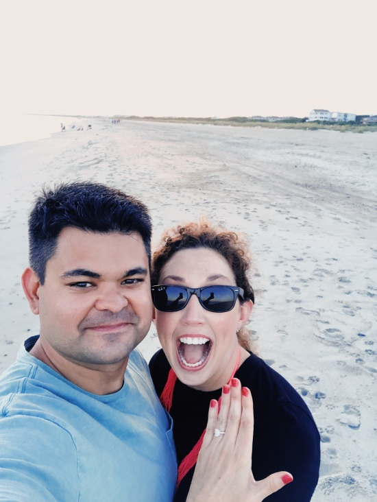 oak island engagement