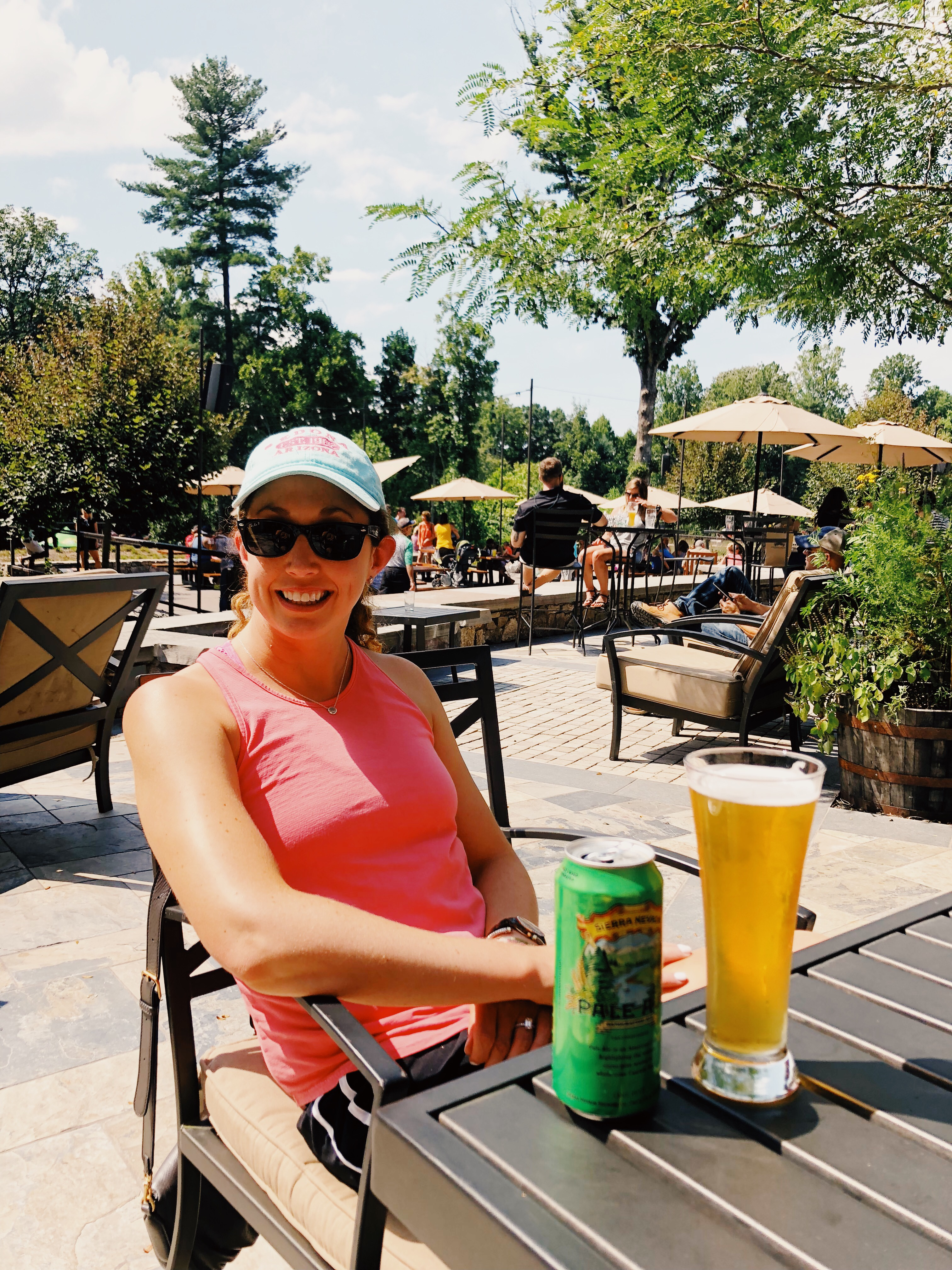 Sunny Afternoon at Sierra Nevada Brewing Asheville