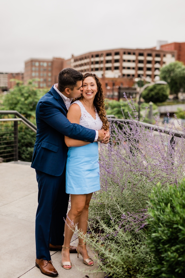 winston salem engagement photo shoot
