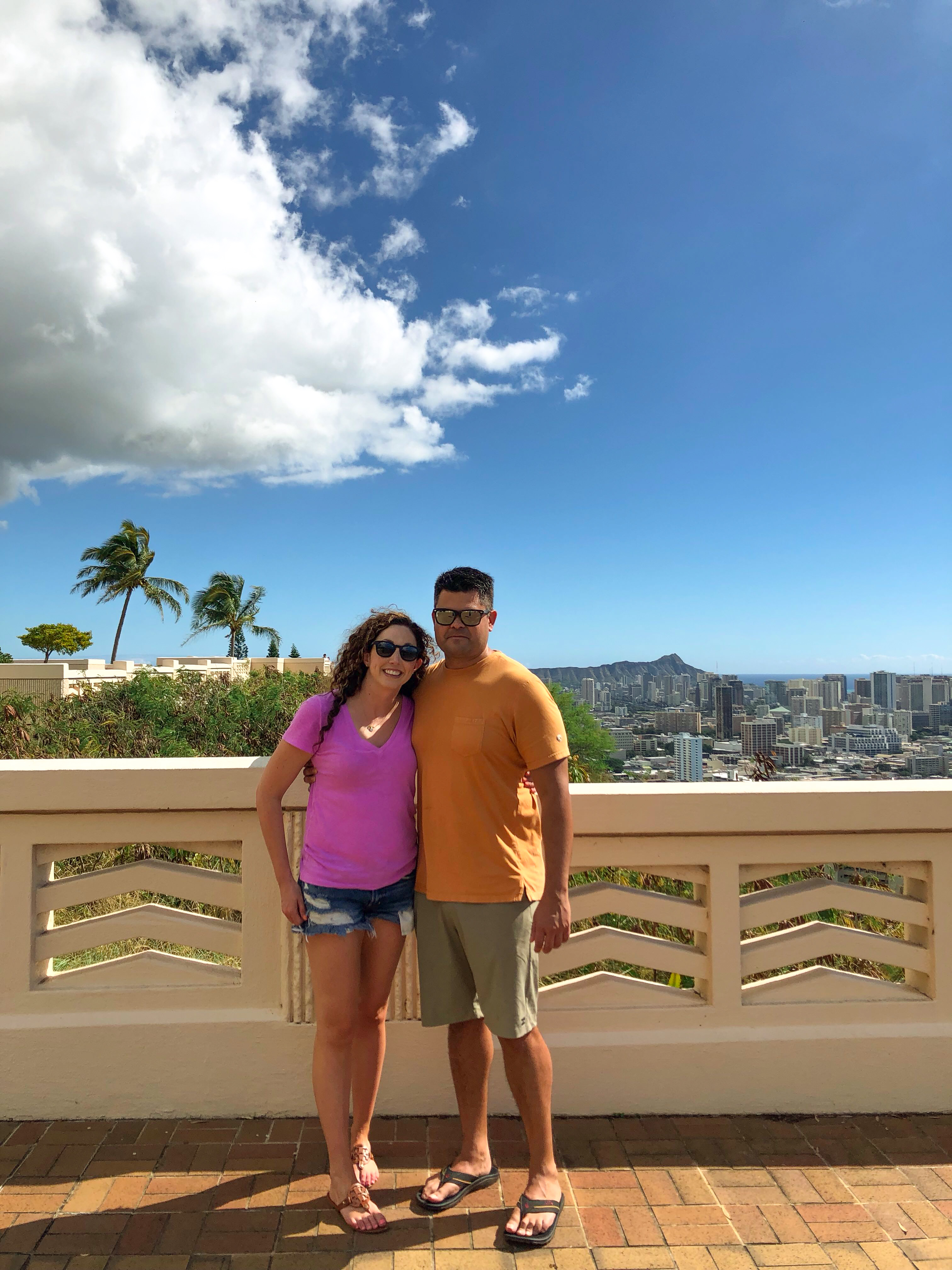 oahu views from the punchbowl