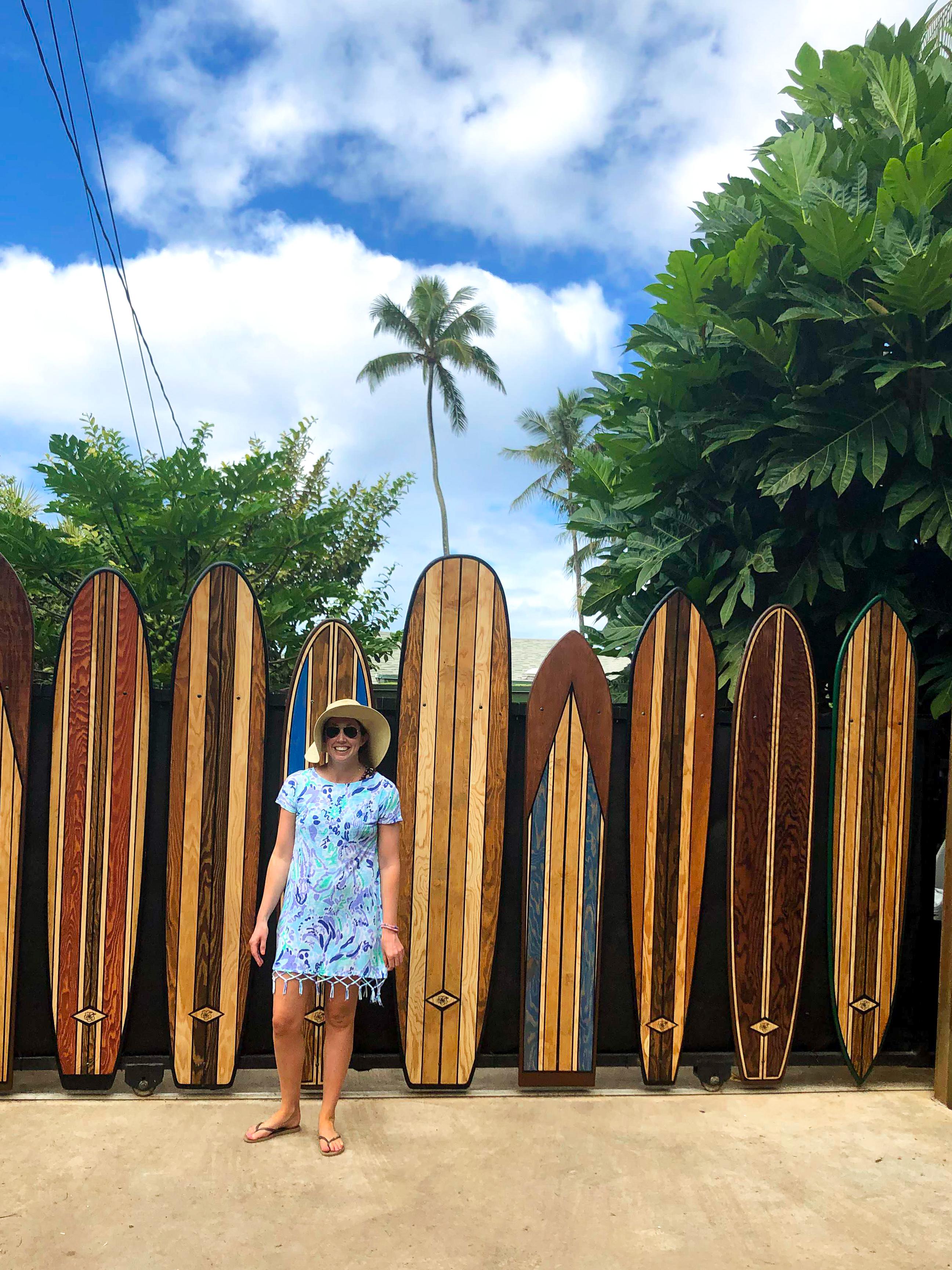 Surfboard Gate North Shore Oahu