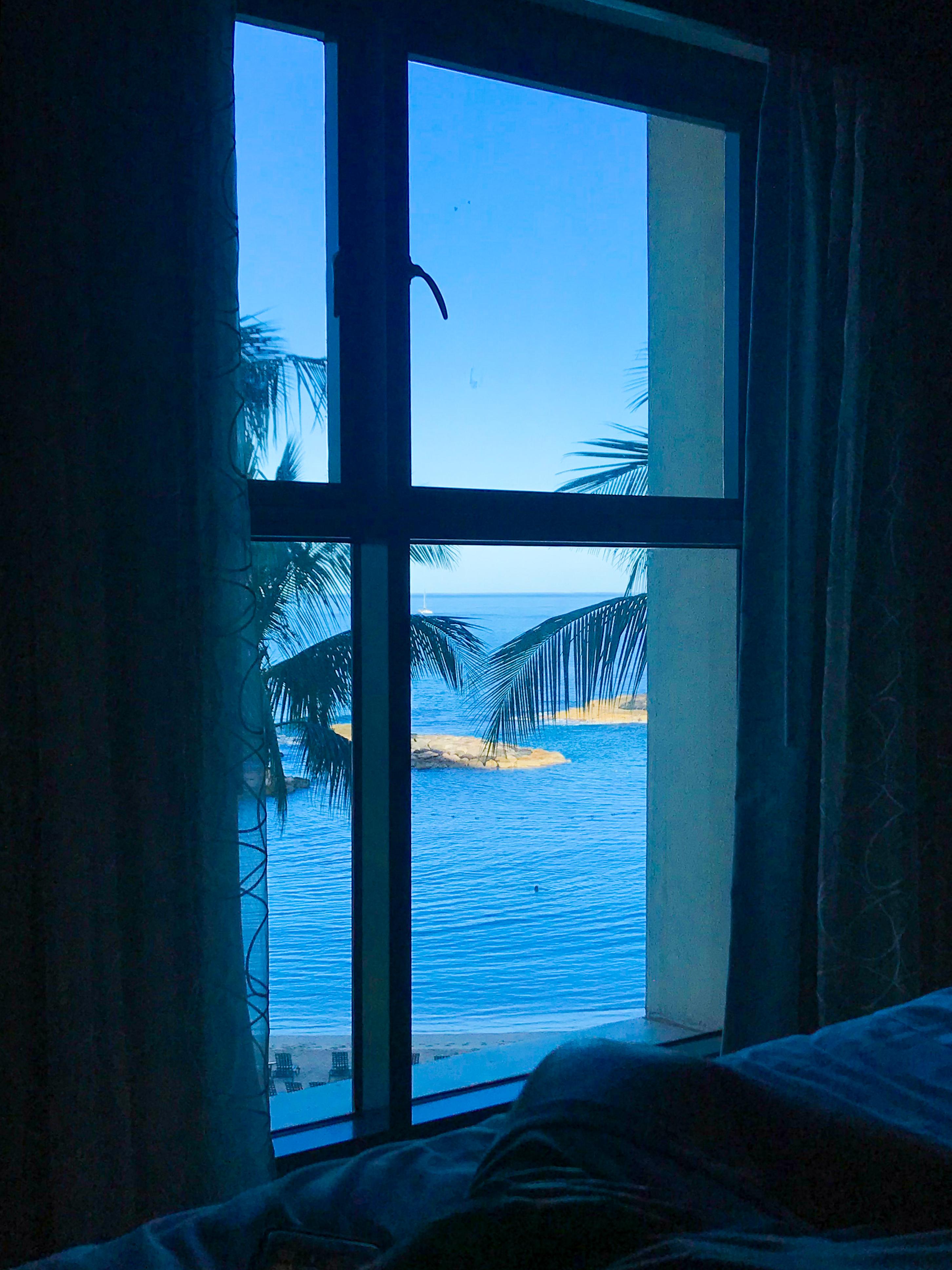 waking up in Oahu