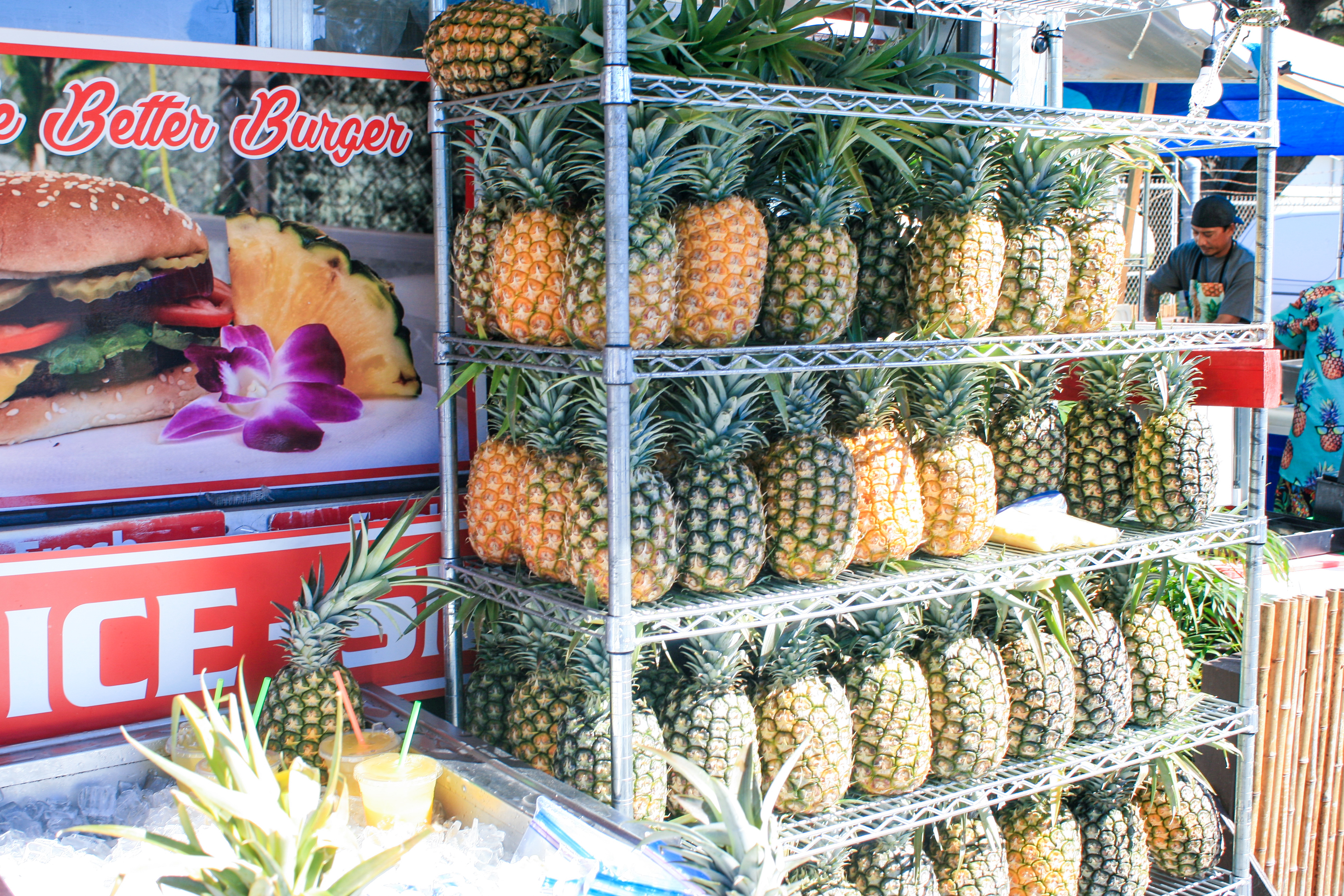 Hawaii Pineapple Stand