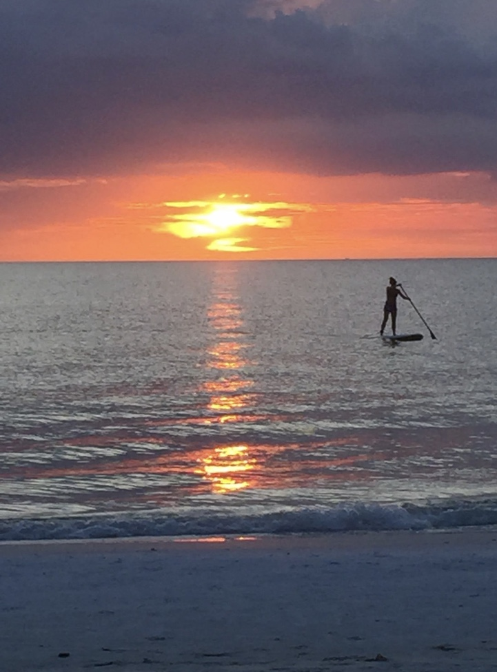 Sunset on the Gulf Coast Siesta Key Florida
