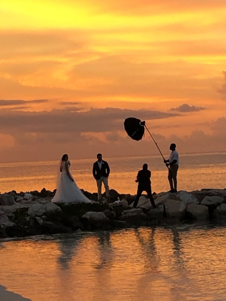 Wedding Sunset in Jamaica