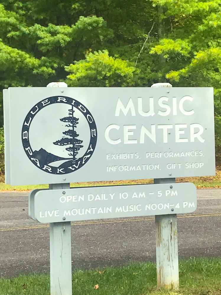 Hiking at the Blue Ridge Parkway Music Center