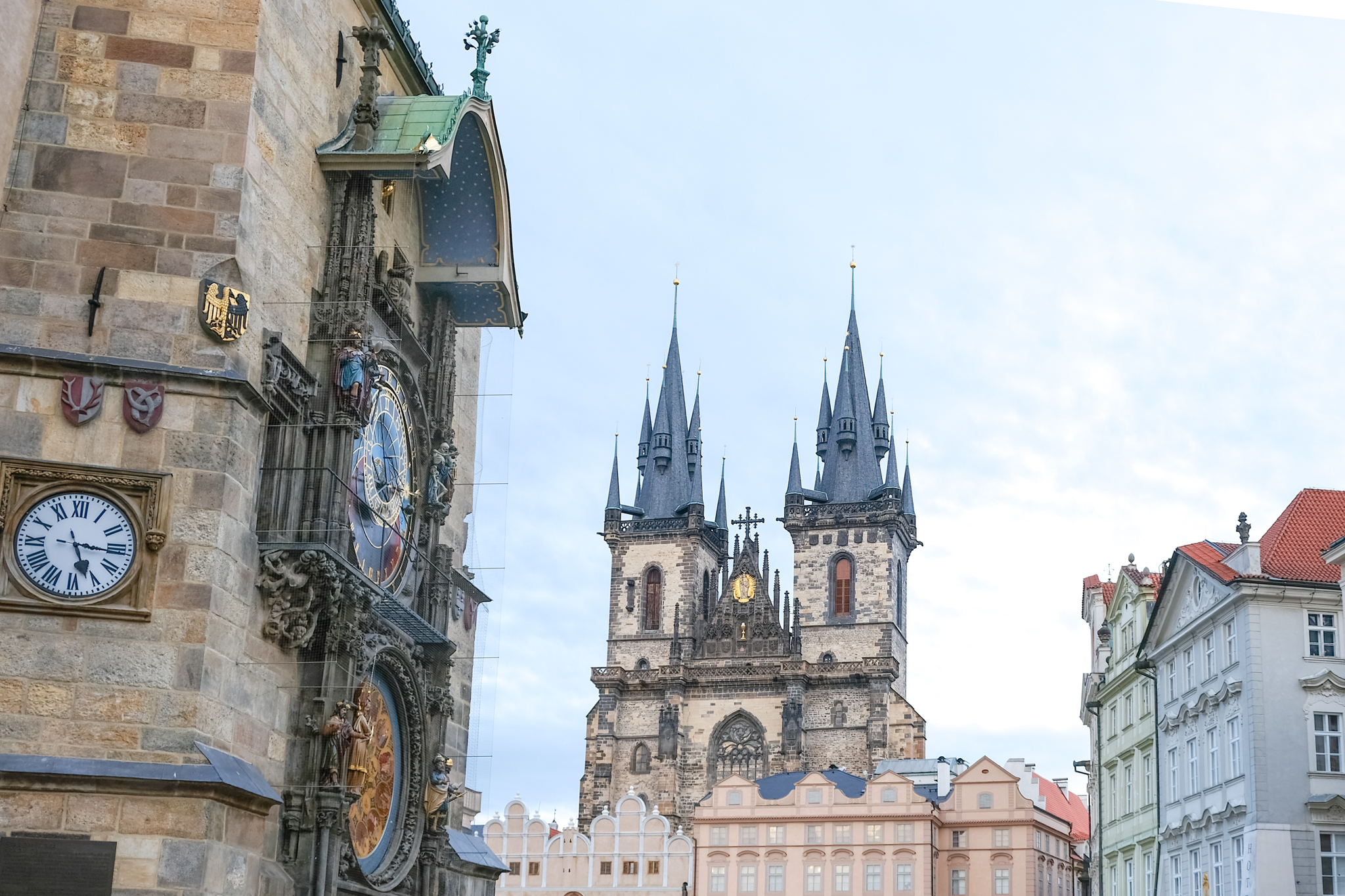 Prague Old Town Square Astronomical Clock