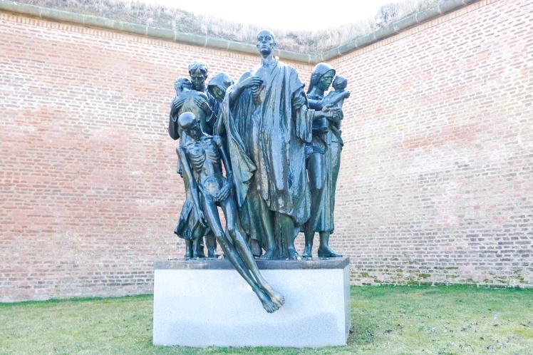 Statue at Terezin
