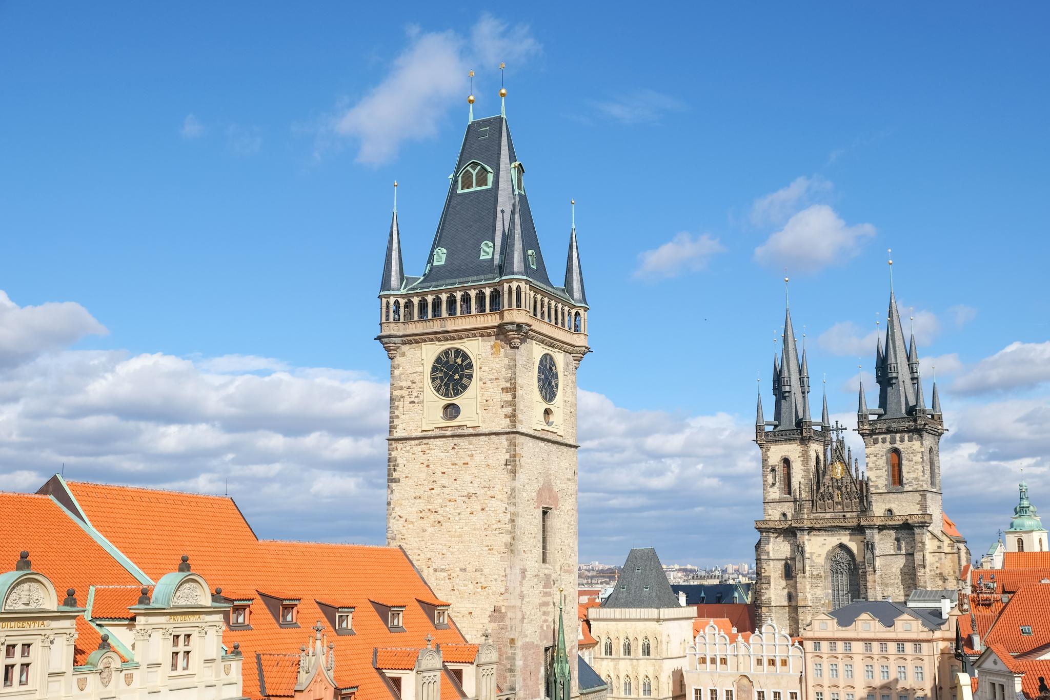 View from Teresa U Prince Prague