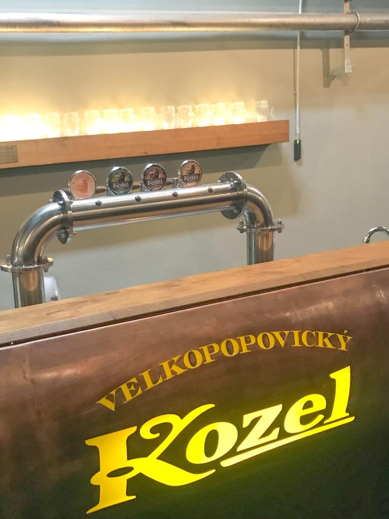 Kozel Beer Brewery Tour