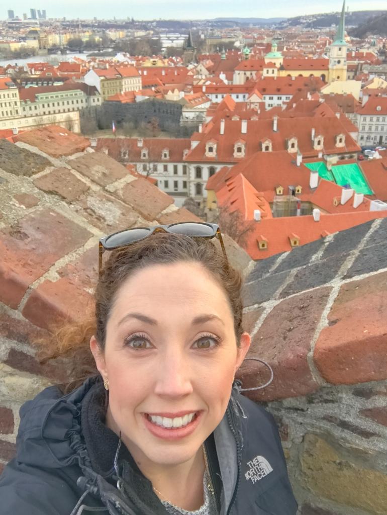 Prague Castle City Views