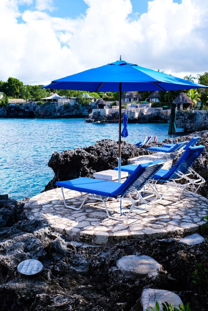 Rockhouse Hotel privat sun deck