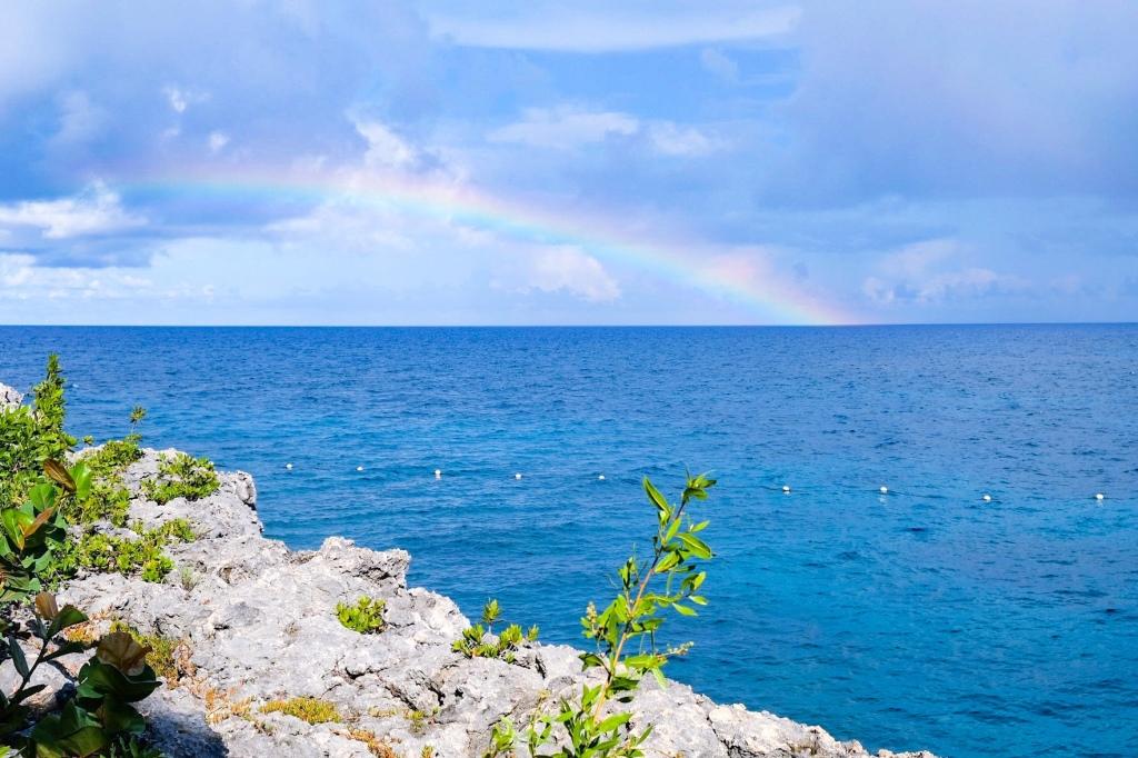 rainbow at rockhouse jamaica