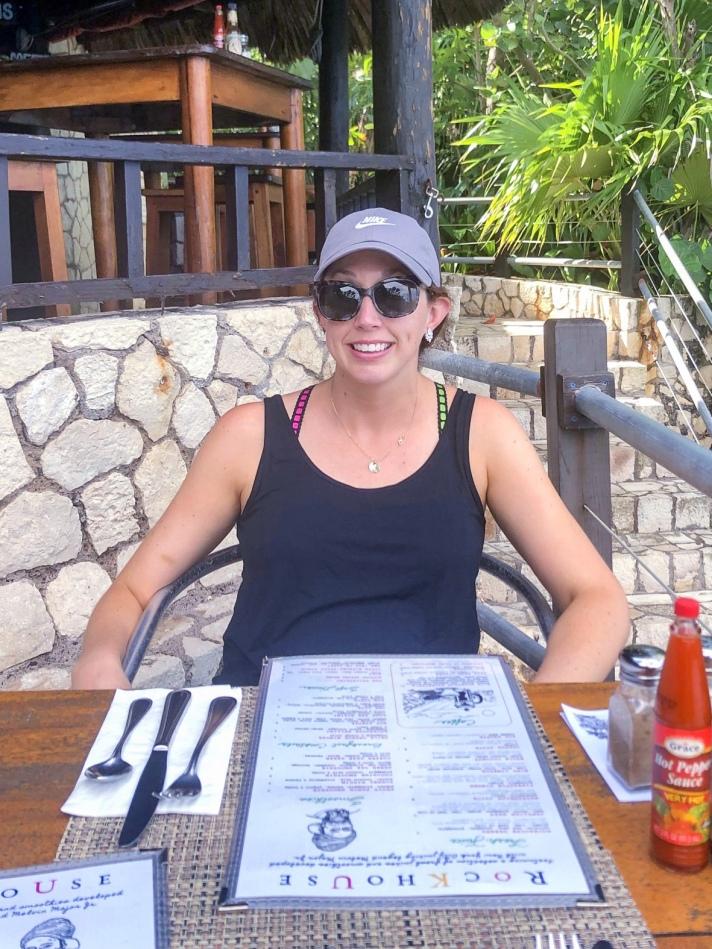 breakfast at the rockhouse restaurant
