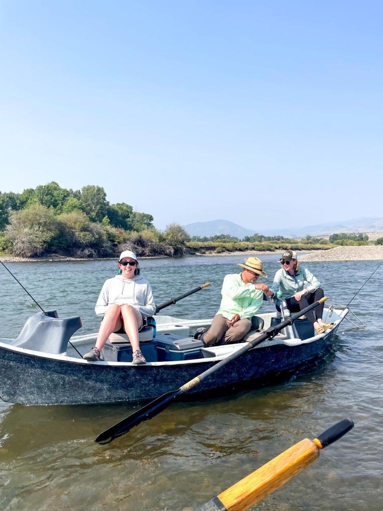 fishing the yellowstone river